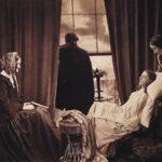 Henry Peach Robinson fez a primeira fotomontagem do mundo, combinando múltiplos negativos para formar uma única imagem. Pense nisso quando usar o Photoshop. 1858.
