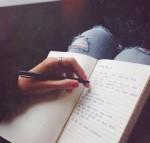 Escrever, apesar de