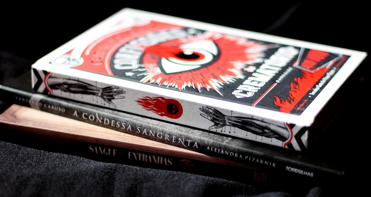 3 livros e uma dose de morbidez